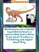 Bundle: Dinosaur bulletin board, calendar, writng prompts & more