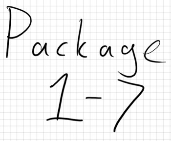 Package lvl 1 - 7 (Distance Learning)
