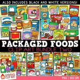 Packaged Food Clip Art Bundle 2