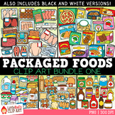 Packaged Food Clip Art Bundle