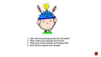 STEM: Engineering Aid Drop Packages Engineering
