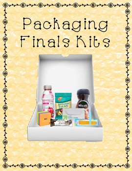 Packaging Finals Survival Kits