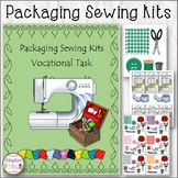 ASSEMBLY TASK Packaging Sewing Kits