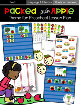 Packed with Apples Literacy and Math Unit