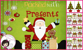 Packed with Presents: A Christmas Dolch Word game