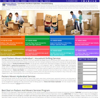 Packers And Movers Hyderabad Organization
