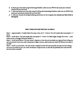 Packet -- How to write a literary analysis essay (for the novel Speak)