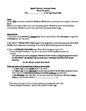 Packet -- How to write a literary analysis essay (for the