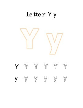 Packet Letter Y Color Trace Write Read