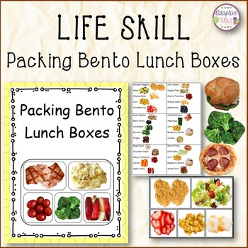 LIFE SKILL Packing Bento Lunch Boxes