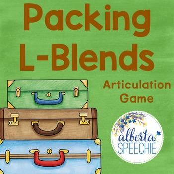 Packing L-Blends Articulation Game