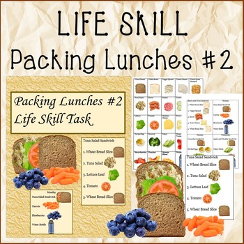 LIFE SKILL Packing Lunches #2