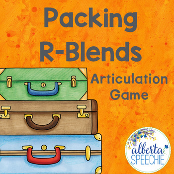 Packing R-Blends Articulation Game