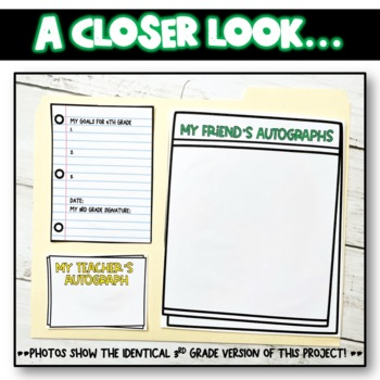 End of the Year Lapbook Second Grade