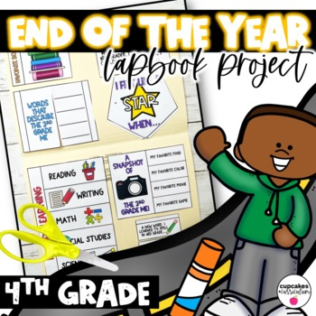 End of the Year Lapbook Fourth Grade