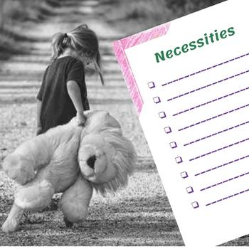 Packing list -checklists and templates