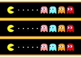 Pacman Themed Display Border