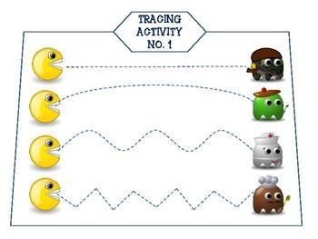 Pacman Tracing Activity