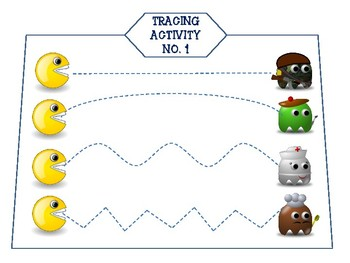 Pacman Tracing Activity