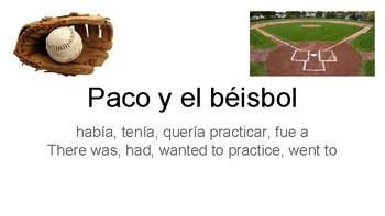 Paco y el béisbol
