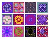 Padao (Flower Cloth) Designs