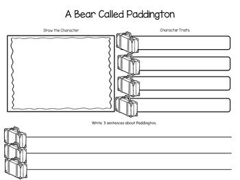 Paddington Bear  ~ 75 pages of Common Core Activities