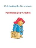 Paddington Bear Activities
