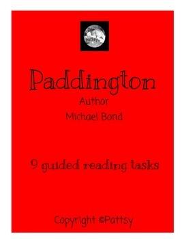 Paddington Learning Log Guided Reading US Version