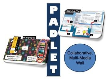 Padlet Interactive Multi-Media Wall Lesson