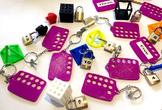 Padlock Pandemonium Lite - 1-20 Padlock Counting Game - (T