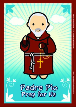 Padre Pio Poster - Catholic