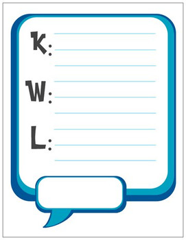 Pads: KWL Chart