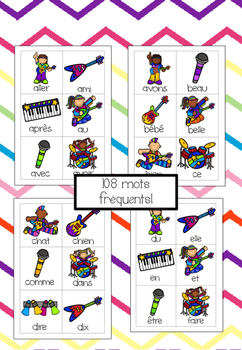 Paf! Rock Star (centre mots fréquents) (french sight words)