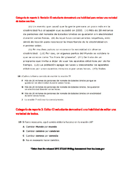 Page 2 STAAR Writing 4th grade awareness flyer-Spanish