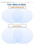 Page 2 Venn Diagrams for Athens VS Sparta: