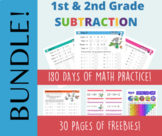 Page A Day Math SUBTRACTION Series (subtraction facts to 24-12)