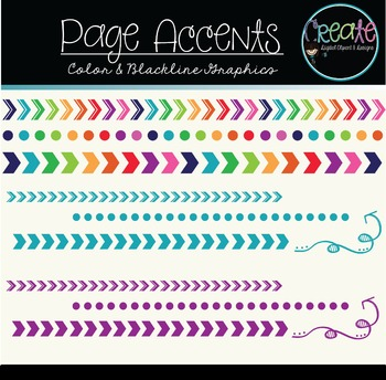 Page Accents - Digital Clipart