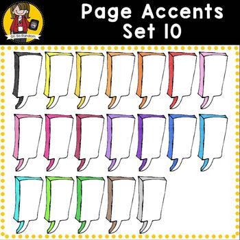 Page Accent Set 10 {Speech Bubbles for CU}