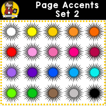 Page Accent Set 2 {Starburst for CU}