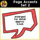 Page Accent Set 3 {Speech Bubbles for CU}