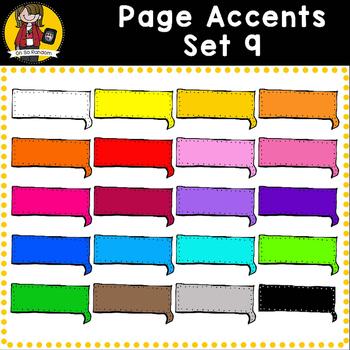 Page Accent Set 9 {Speech Bubbles for CU}