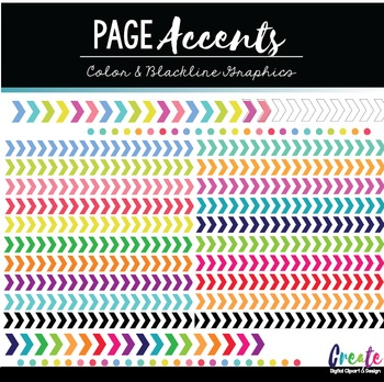 Page Accents 2 - Digital Clipart