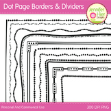 Page Border Frames and Page Dividers: Lots of Dots