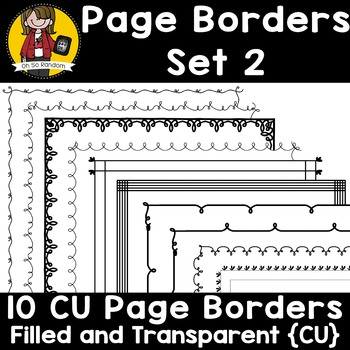 Page Border Set 2 {Borders for CU}