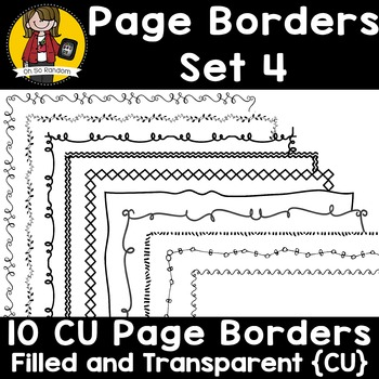 Page Border Set 4 {Borders for CU}