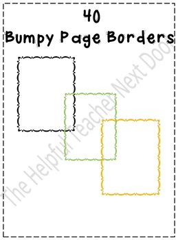 Bumpy Page Borders
