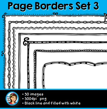 Page Borders (30 images) Set 3