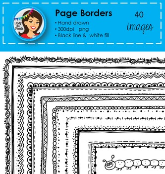 Page Borders (40 images) Set 1