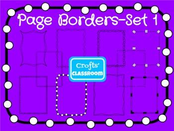Page Borders - Set 1