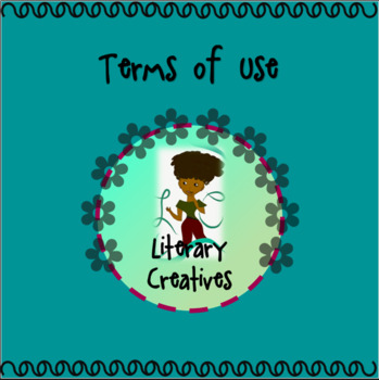 Terms of Use - Literary Creatives